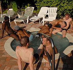 gay sex party