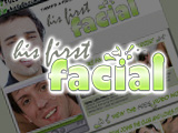 His First Facial From Gay Fetish XXX